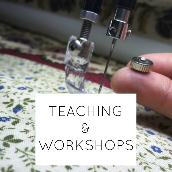 TEACHING AND WORKSHOPS